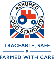 Red Tractor - Traceable Safe & Farmed with Care